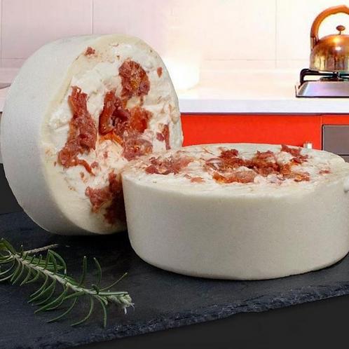 Queijo Recheado c/ Tomate Seco e Requeijão (Metade)