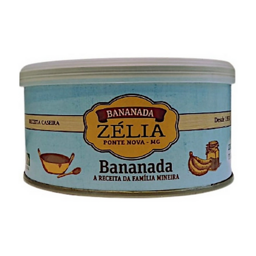 Bananada Cremosa  (Sem Açúcar)