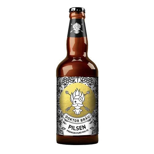 Cerveja Doktor Bräu Pilsen Premium