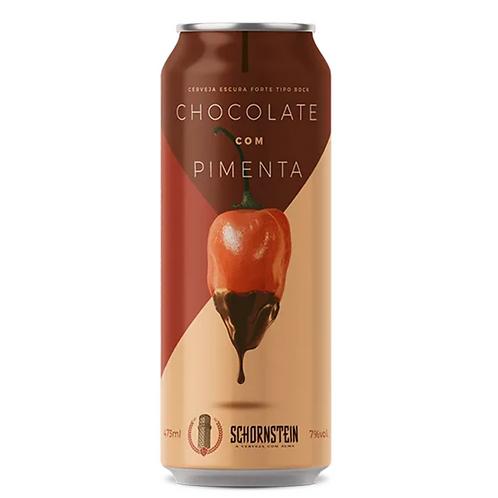 Cerveja Schornstein Chocolate com Pimenta (Lata)