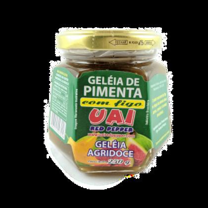 Geleia de Pimenta com Figo