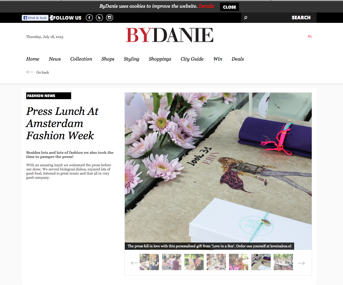 ByDanie Press Lunch