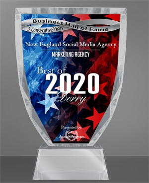 New England Social Media Agency Selected for Business Hall Of Fame in 2020