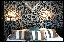 Manoir du Raveyron Vallon Pont d'Arc chambre