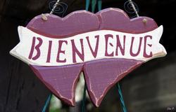 BIENVENUE - WELCOME