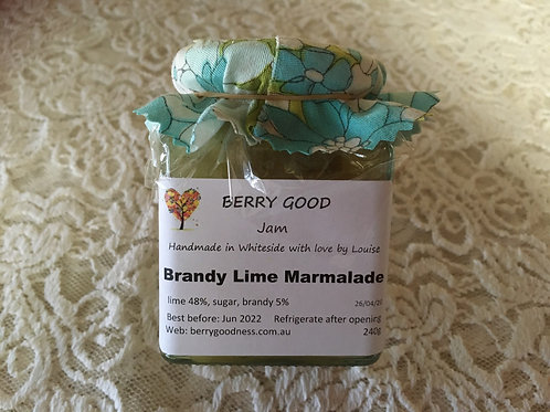 Brandy Lime Marmalade