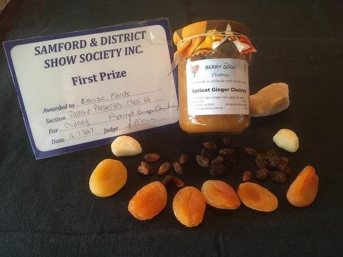 Apricot Ginger Chutney