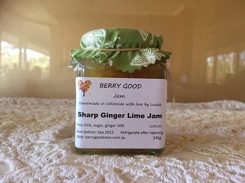 Sharp Ginger Lime Jam