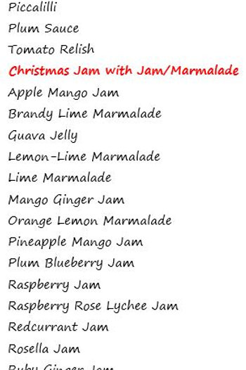 Christmas Jam gift pack (Small)