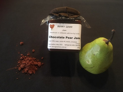 Chocolate Pear Jam (Easter)