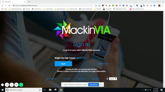 Tech Tip Tuesday (on a Thurs..) - Using MackinVIA