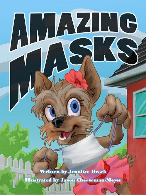 AMAZING MASKS by Jennifer Brock