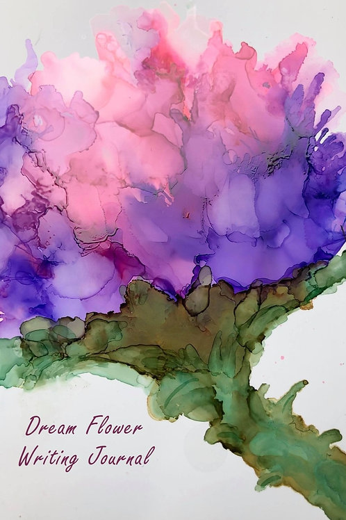 Dream Flowers Full Color Writing Journal by Zanymom Art
