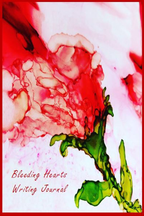 Bleeding Hearts Writing Journal by ZanyMom Art