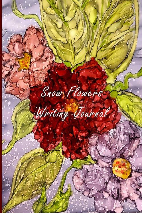 Dream Flower Journal-A Zanymom Art Beautiful B/W Diary, Journal