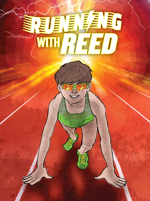 Running with Reed Coloring Activity Books