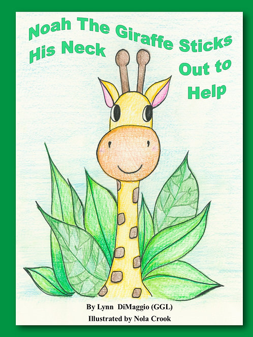 Noah the Giraffe Sticks His Neck Out to Help