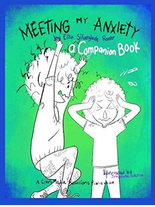 Meeting My Anxiety Book and Companion Book