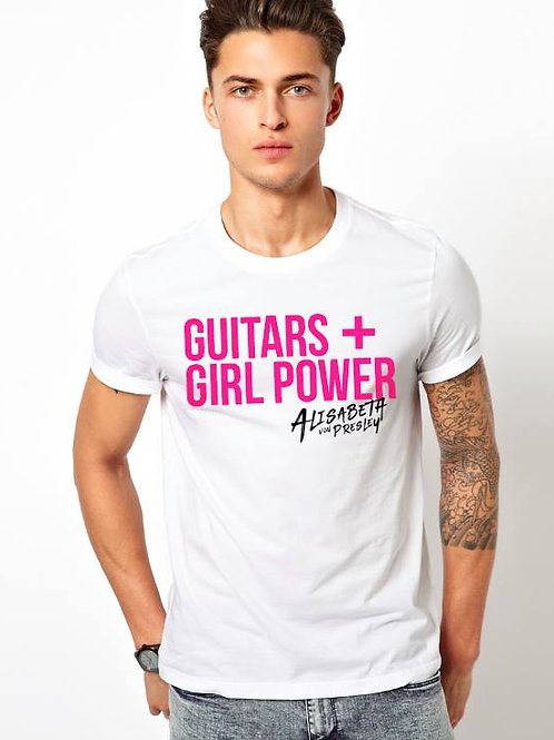 Guitars + Girl Power Tee