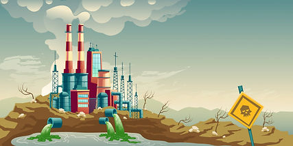 industrial-pollution-environment-cartoon