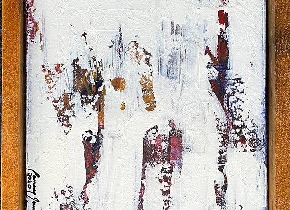 Eamonn James - White In Cherry Wood