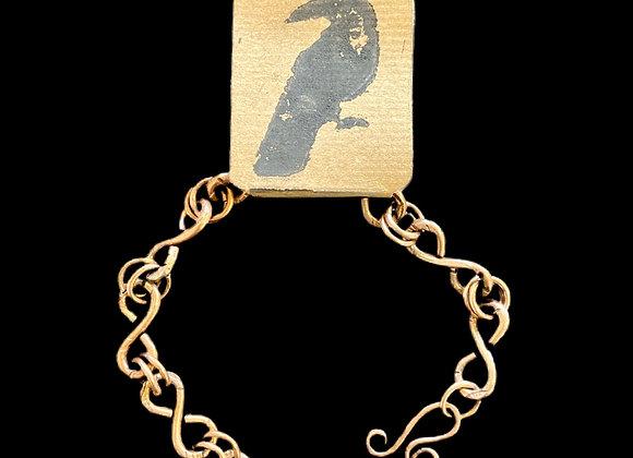Carla Leikam - Heavy Gauge Copper Chain Bracelet