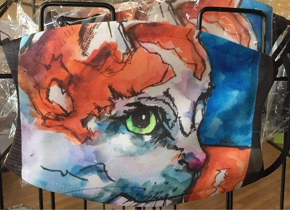Laura Gomel - Meow Face Mask