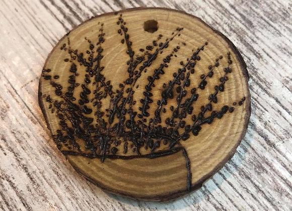 Nicole Landreth - Mini Plantas #2 Wood Burned Ornament