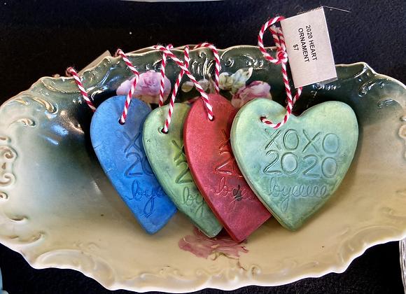 Melinda Cook - 2020 Heart Ornament
