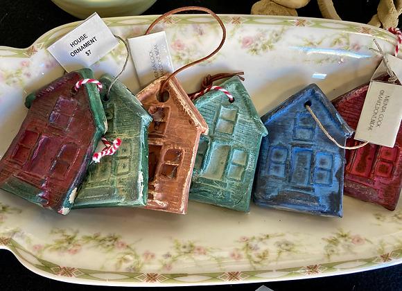 Melinda Cook - House Ornament