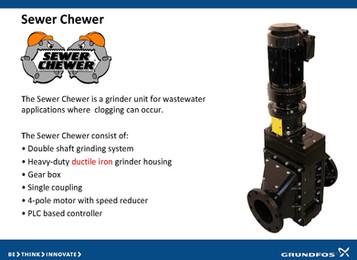 Grundfos Sewer Chewer