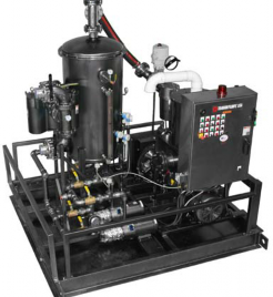 TRAVAINI TORNADO VACUUM RECOVERY SYSTEM                           HIGH PERFORMANCE SUCTION, RUGGED,