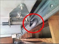 We replace bent or broken garage door rollers
