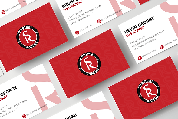 Sporting Rovers Business Cards