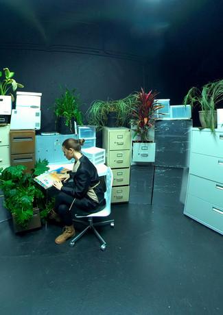 Archivist in Zro Corporation Office.jpg