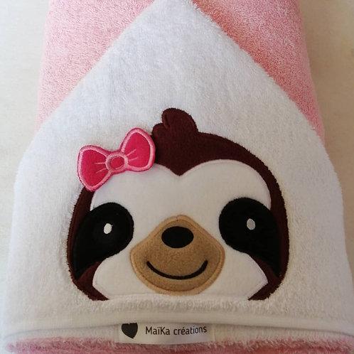 Maika Créations, cape de bain