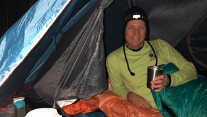 Coffee in my Sleeping Bag
