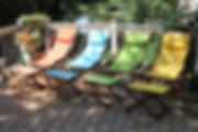 Sunbrella Swing Lounger