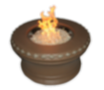 Aztec, fire pit, fire table, flame pit, flame table
