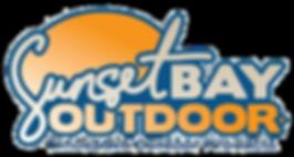 sunset bay outdoor logo, sunsetbay outdoor