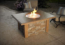 sierra, fire pit, fire table, flame pit, flame table