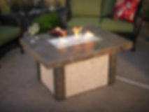 rivers edge, fire pit, fire table, flame pit, flame table