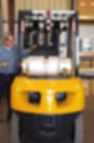Forklift sensors safety