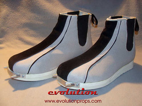 Complete Boba Fett Boots with Aluminium Cover Spikes Mandalorian PROP