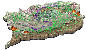 Ruahuwai (Upper Waikato) Catchment Model