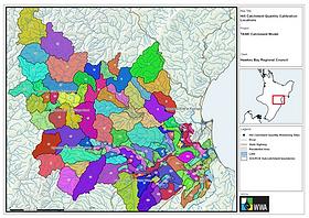 TANK (Tutaekuri, Ahuriri, Ngaruroro, and Karamu Rivers) SOURCE Catchment Model