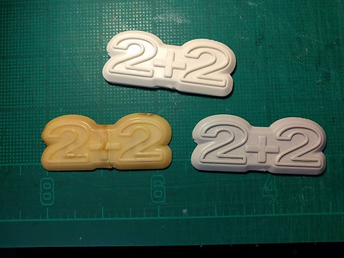 2+2 reproduction badge for S30 Z