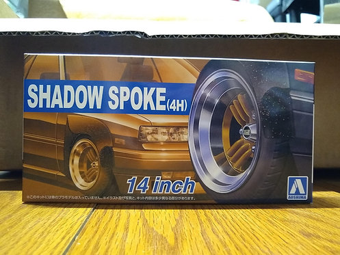 1:24 - Shadow Spoke wheels