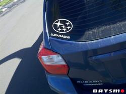 Subaru Parody on Hiro's Imprezza