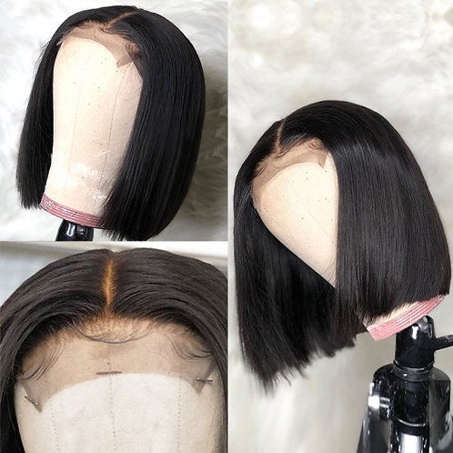 "Brazilian Straight Bob 14"" 5x5 HD Closure Wig"